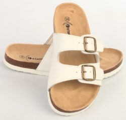 дамски чехли с коркова подметка