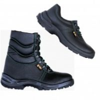 Работни обувки категория S3 с бомбе, пластина и водоустойчивост